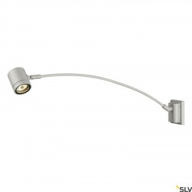 SLV 233134 NEW MYRA DISPLAY CURVE,silver-grey, GU10, max. 50W,IP55