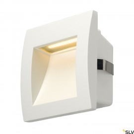 SLV 233601 DOWNUNDER OUT LED S recessedwall light, white, SMD LED3000K, IP55