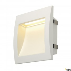 SLV 233611 DOWNUNDER OUT LED L recessedwall light, white, SMD LED3000K, IP55