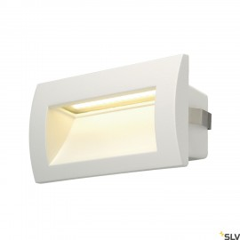 SLV 233621 DOWNUNDER OUT LED M recessedwall light, white, SMD LED3000K, IP55