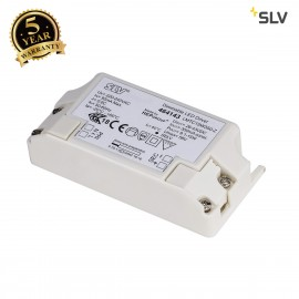 SLV 464143 LED DRIVER, 15W, 350mA, incl.strain-relief, dimmable