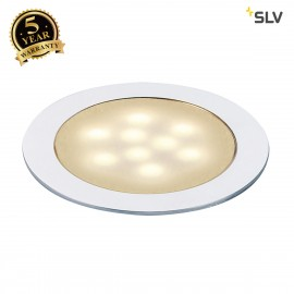 SLV 550672 LED SLIM LIGHT recessedfitting, anodised aluminium,0.5W, 3000K