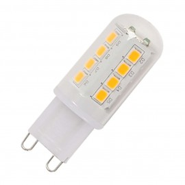 INTALITE 560302 G9 LED lamp, 2.3W, 2700K,Multidot