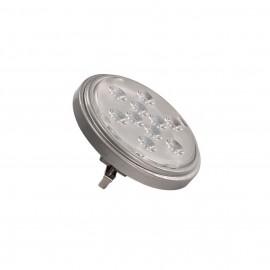 INTALITE 560624 LED QR111 G53 bulb, 13°, silvergrey, 4000K, 800lm