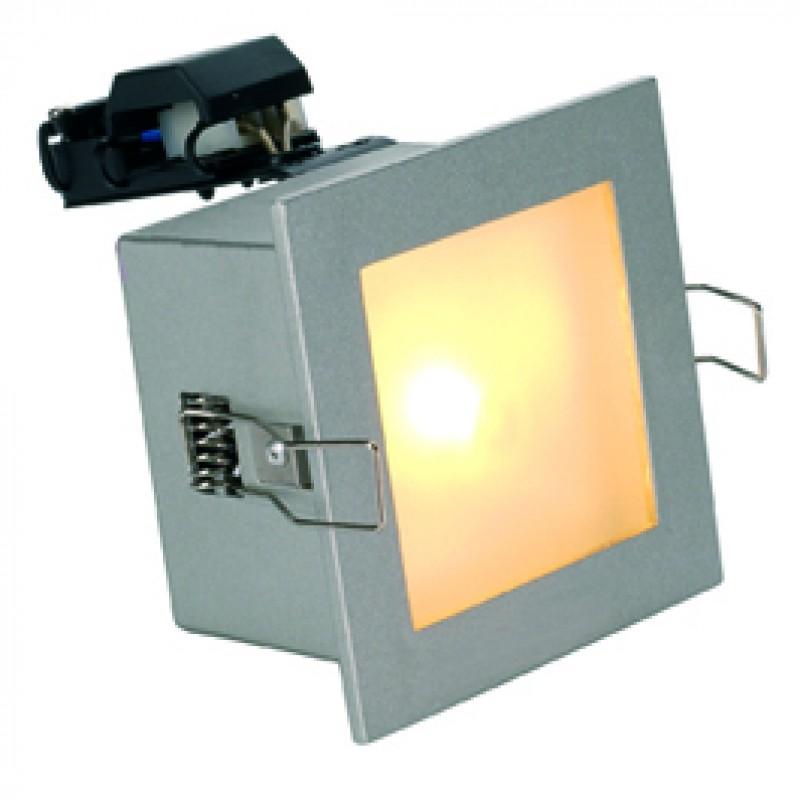 SLV 111222 Frame Basic MR16 50W Silver Grey Ceiling & Wall Light
