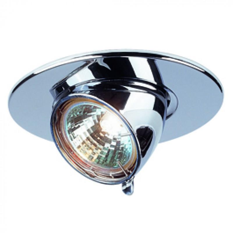 SLV 112152 Gimble Round MR16 50W Chrome Downlight