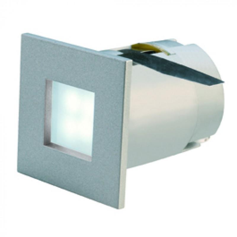 SLV 112711 Mini Frame LED 0.3W 6500K Silver Grey Guide Light