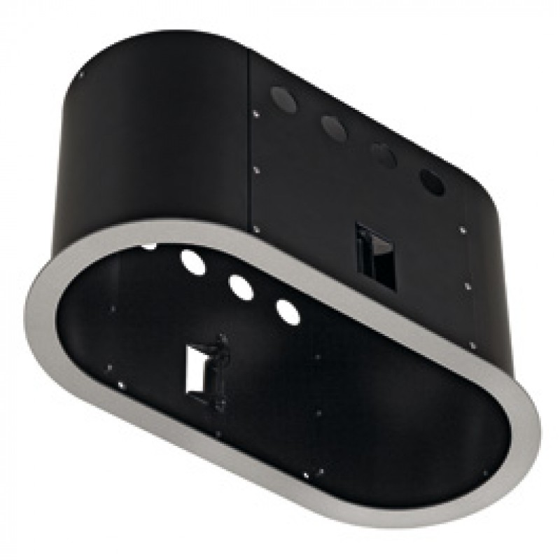 SLV 115654 Aixlight Pro 2 Frame Round Silver Grey & Black