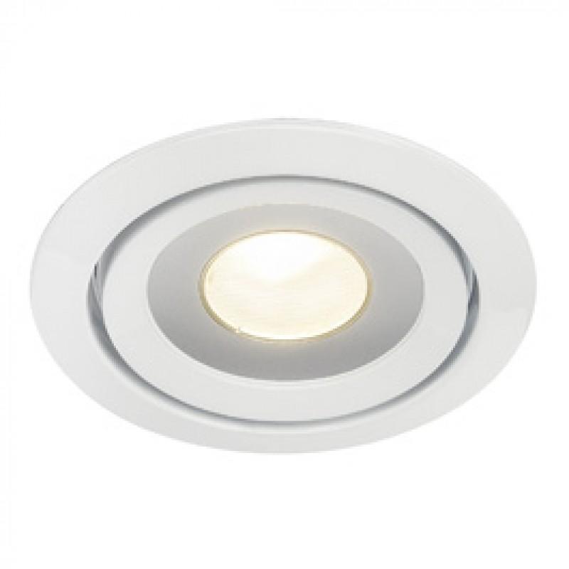 SLV 115801 Luzo LED Disk 12W 2700K White Downlight