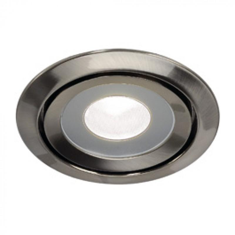 SLV 115815 Luzo LED Disk 11W 4000K Brushed Metal Downlight