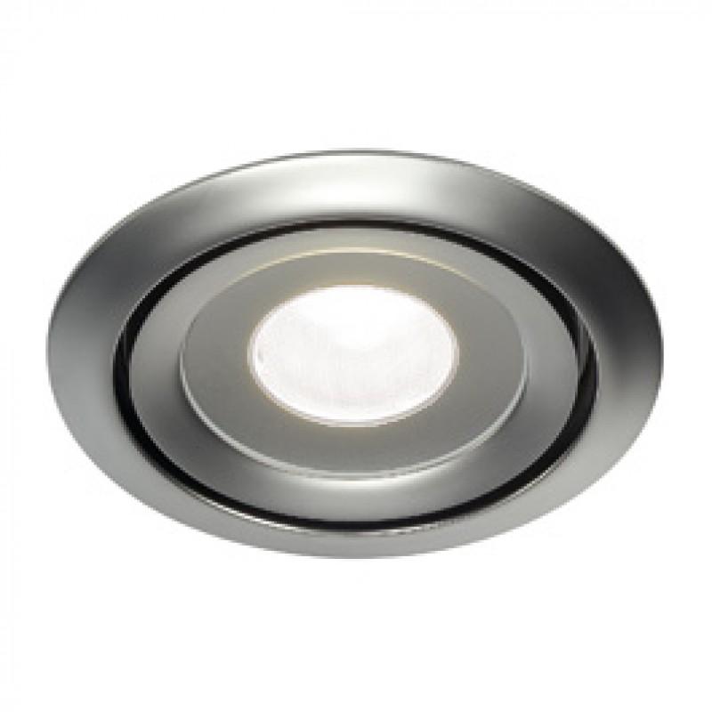SLV 115818 Luzo LED Disk 11W 4000K Matt Chrome Downlight