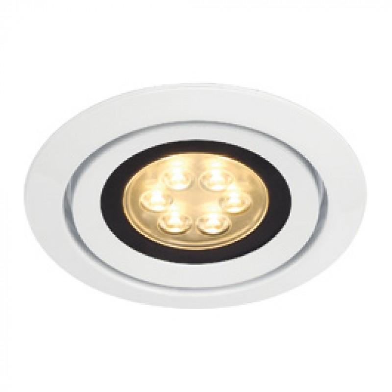 SLV 115821 Luzo Integrated LED 13W 2700K White Downlight