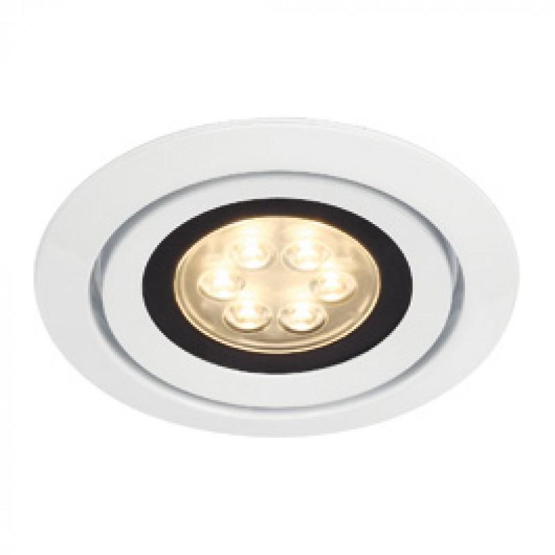 SLV 115831 Luzo Integrated LED 13W 3000K White Downlight