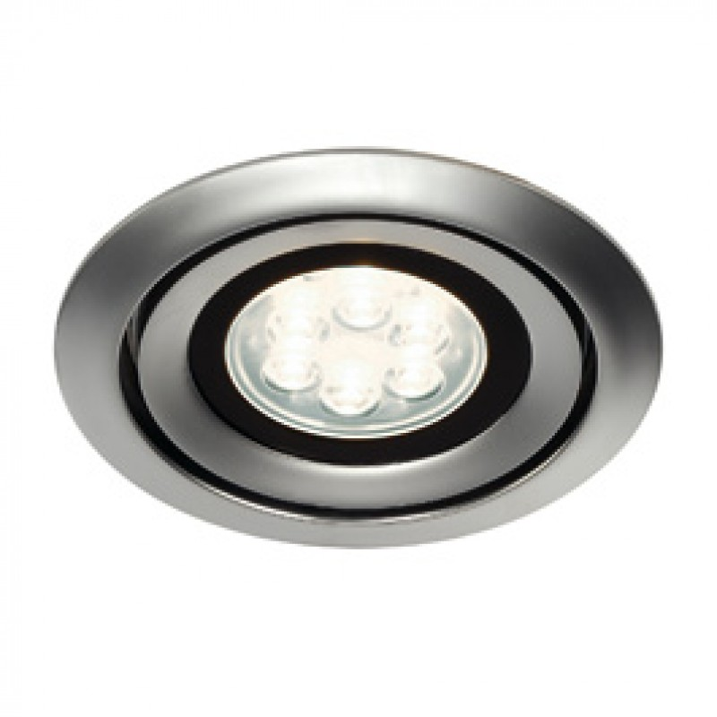 SLV 115848 Luzo Integrated LED 13W 4000K Matt Chrome Downlight
