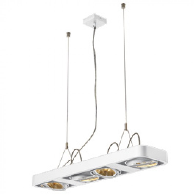 SLV 159081 Aixlight R2 Long QRB111 4x50W White Suspended