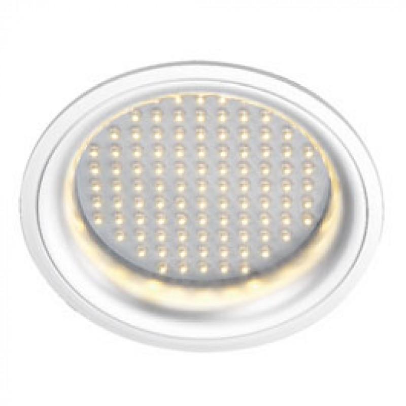 SLV 160372 LEDpanel Round 8W 3000K White Downlight