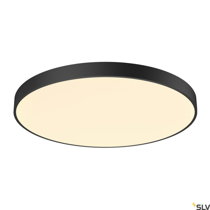 SLV MEDO 90 CW CORONA LED Black Wall & Ceiling light Triac Dimmable 3000/4000K 1001878