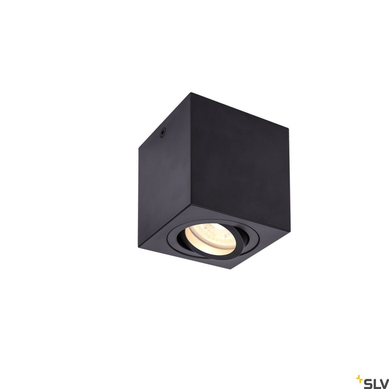 Intalite 1002013I TRILEDO CL, indoor surface-mounted ceiling light, QPAR51, black, max 10W