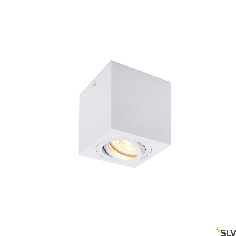 Intalite 1002015I TRILEDO Single, indoor surface-mounted ceiling light, QPAR51, white, max 10W