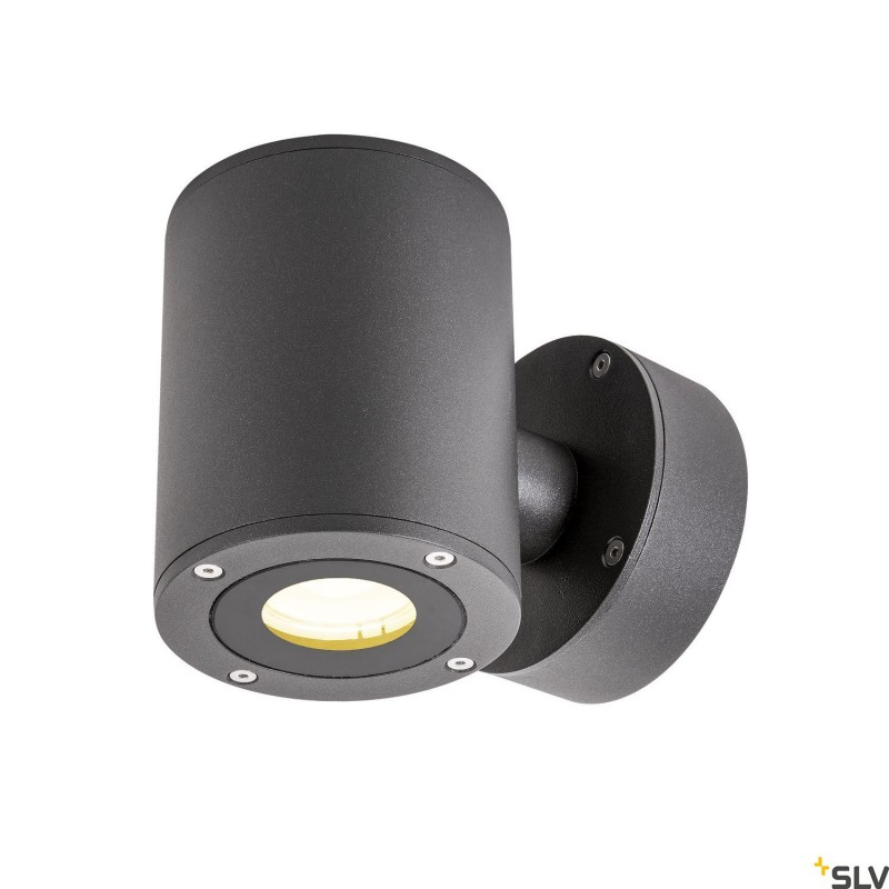 Intalite 1002018I SITRA Up/Down WL, LED Outdoor surface-mounted wall light, anthracite, IP44, 3000K, 9W