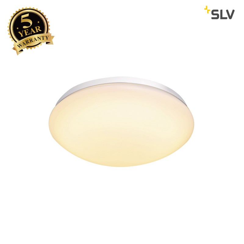 Intalite 1002020I LIPSY 30 Dome, LED Outdoor surface-mounted wall and ceiling light, white, IP44, 3000/4000K