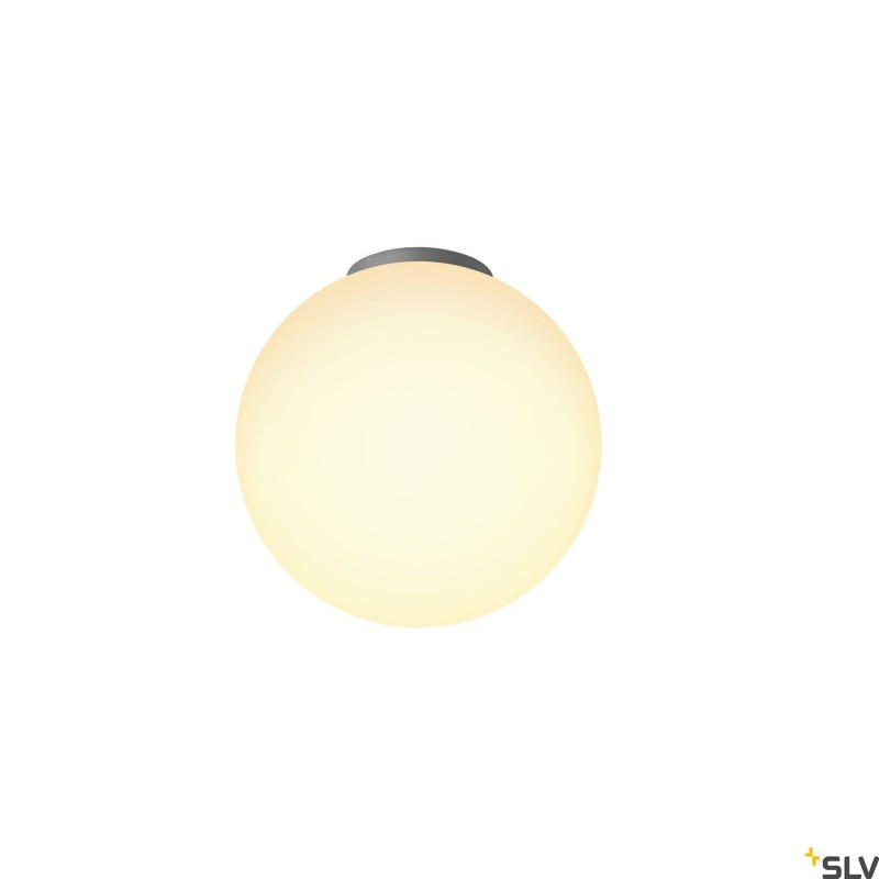 Intalite 1002051I ROTOBALL 25 CL, Indoor surface-mounted ceiling light, E27, white, max. 24W