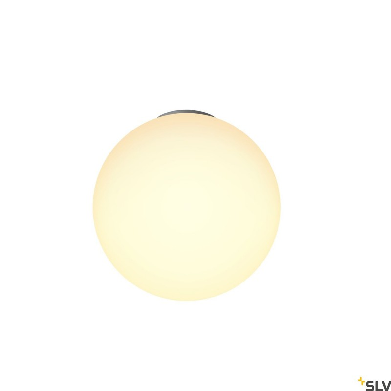 Intalite 1002052I ROTOBALL 40 CL, Indoor surface-mounted ceiling light, E27, white, max. 24W
