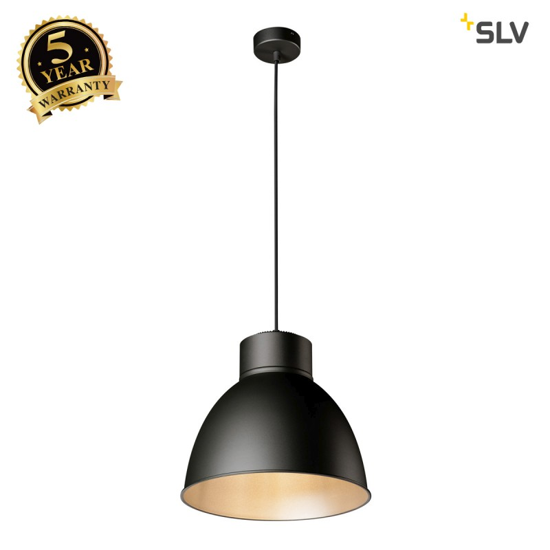 Intalite 1002056I PARA DOME E27, aluminium reflector, black