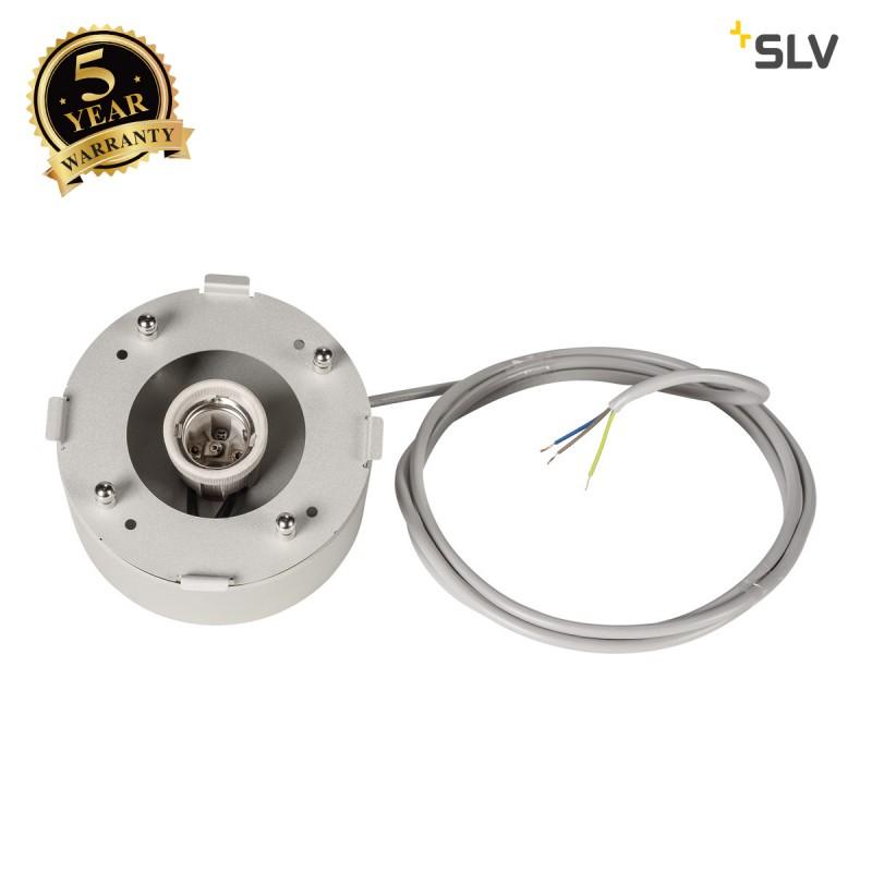 Intalite 1002055I PARA DOME E27, PD, indoor pendant, silver, max. 150W