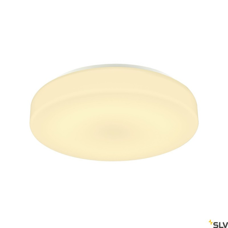 Intalite 1002076I LIPSY 40 Drum CW, LED Outdoor surface-mounted wall and ceiling light, white, IP44 3000/4000K