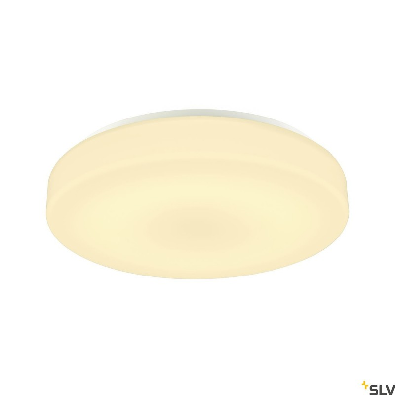 Intalite 1002077I LIPSY 50 Drum CW, LED Outdoor surface-mounted wall and ceiling light, white, IP44 3000/4000K