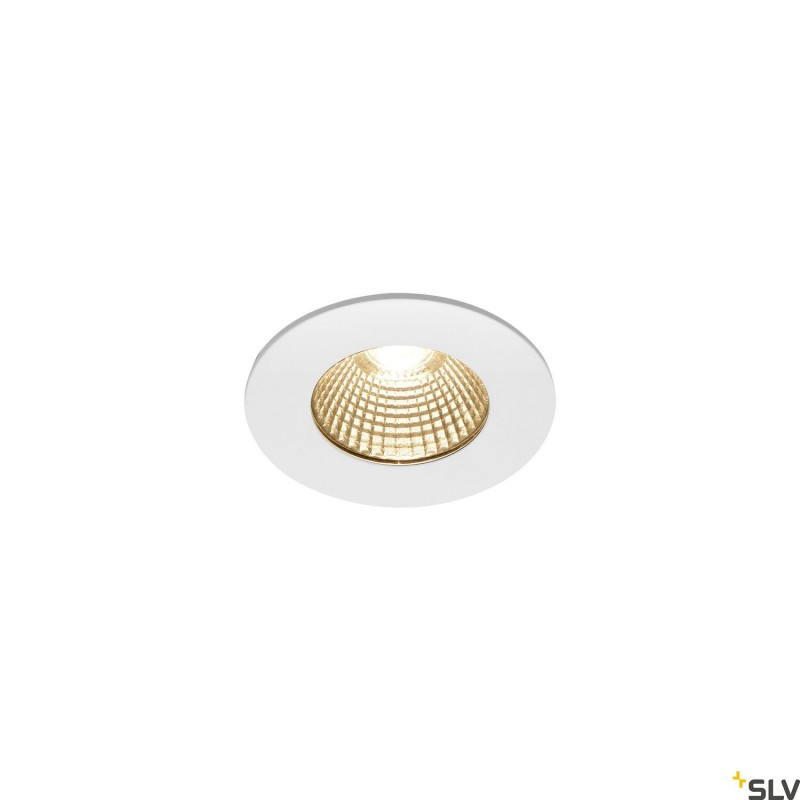 Intalite 1002099I PATTA-I, LED outdoor recessed ceiling light, round DL IP65 white 1800-3000K