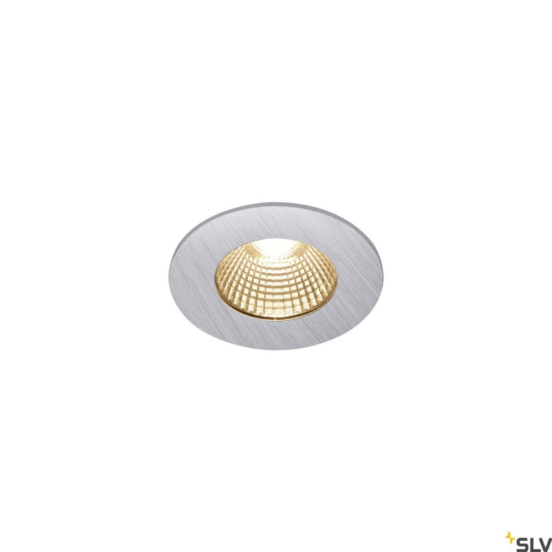 Intalite 1002100I PATTA-I, LED Outdoor recessed ceiling light, round DL IP65 silver 1800-3000K