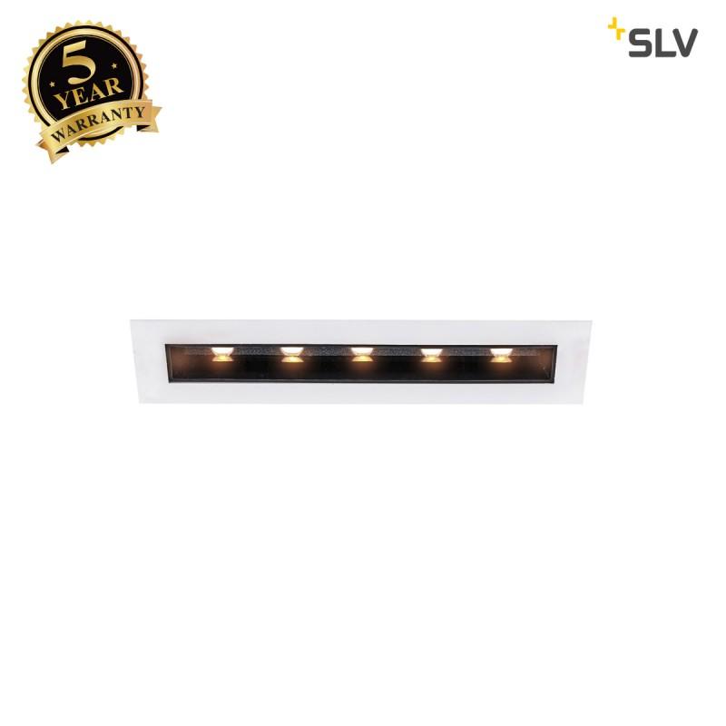 Intalite 1002105I MILANDO DL, LED indoor recessed ceiling light, black/white, 3000K, 800lm