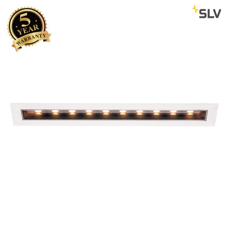 Intalite 1002106I MILANDO DL, LED indoor recessed ceiling light, black/white, 3000K, 1700lm