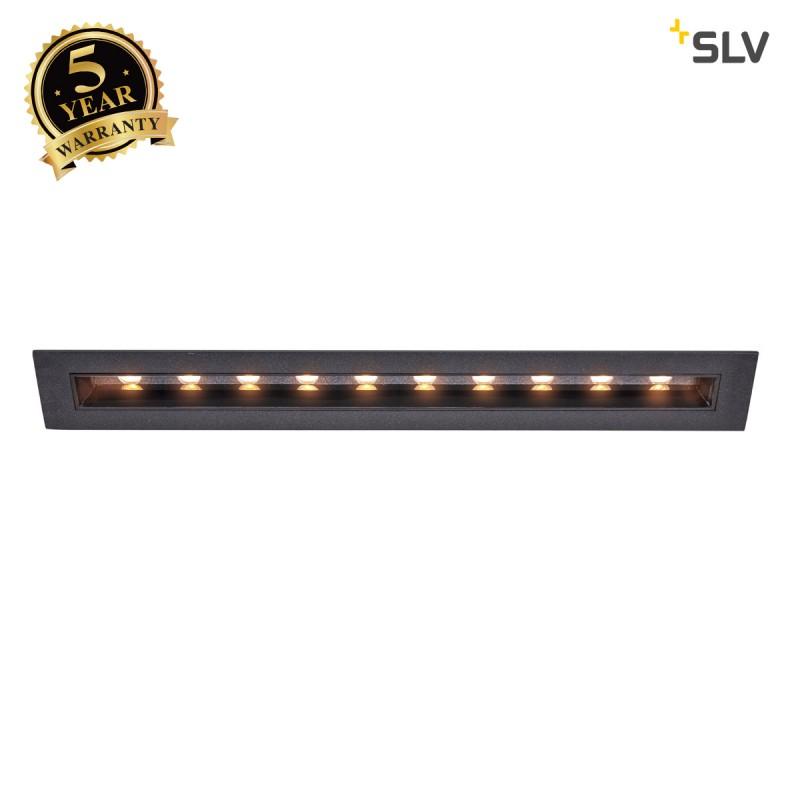 Intalite 1002109I MILANDO DL, LED indoor recessed ceiling light, black, 3000K, 1700lm