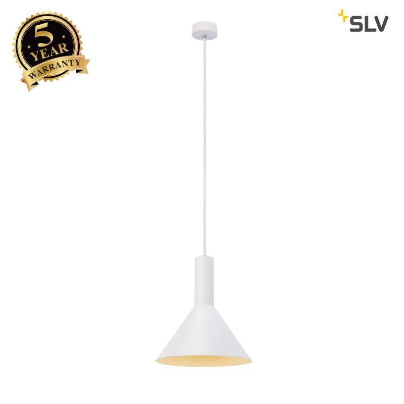 Intalite 1002137I PHELIA PD, indoor pendant, E27, white, max. 23W, 27.5cm
