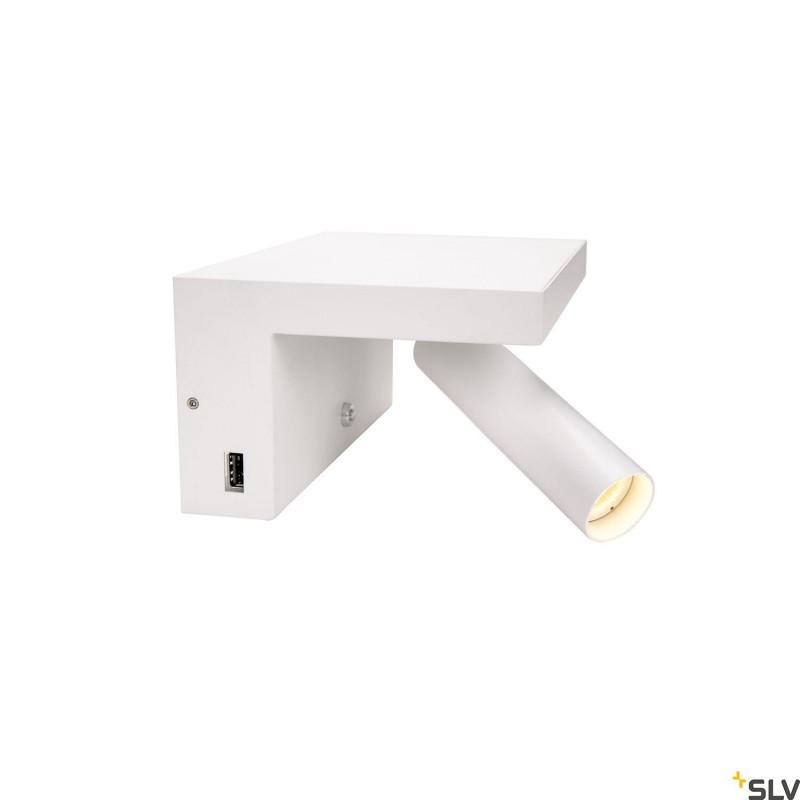 Intalite 1002140I KARPO Bedside, LED Indoor surface-mounted wall light, white, 3000K