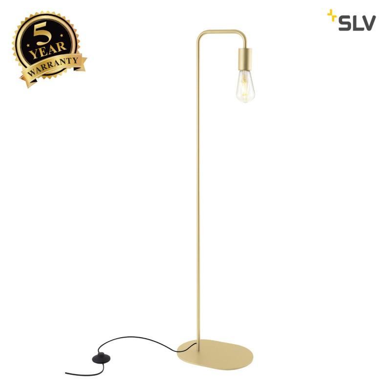 Intalite 1002150I FITU FL, indoor floor stand, E27, soft gold, max. 24W