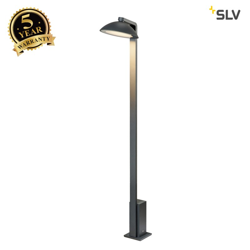 Intalite 1002158I MALU Pole, LED outdoor floor stand, anthracite, IP44, 3000K