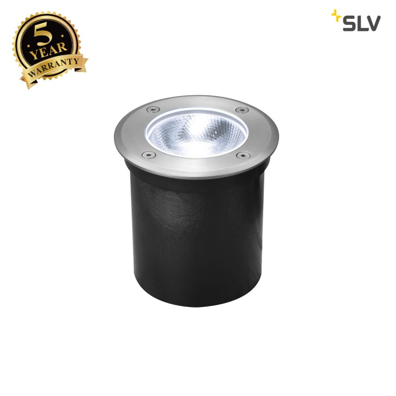 Intalite 1002185I ROCCI Round, outdoor LED inground fitting, stainless steel 316, 4000K, IP67, 8.6W