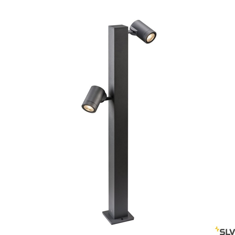 Intalite 1002200I HELIA Double Pole, LED outdoor floor stand, anthracite, IP55 3000K