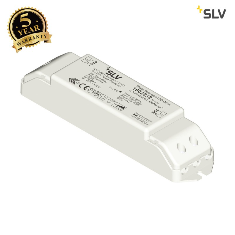 Intalite 1002232I LED driver, 350mA, 20W, dimmable