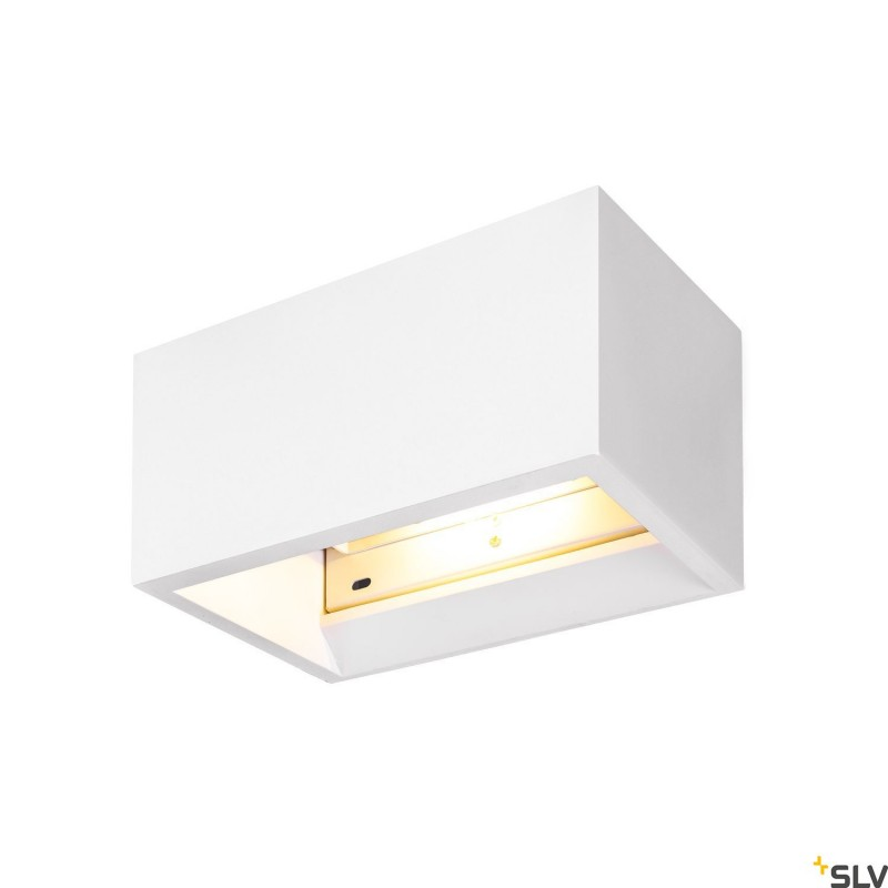 SLV PLASTRA QT-DE12 WL White Wall light 1002238