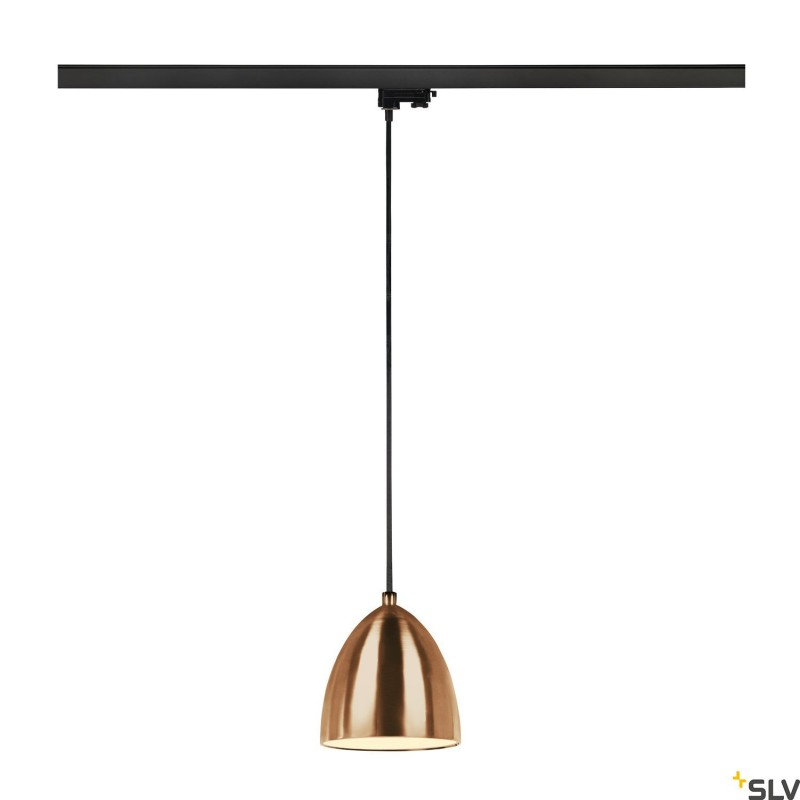 SLV PARA CONE 14 PD QPAR51 35W Copper 3-Circuit Track Pendant Light 1002686