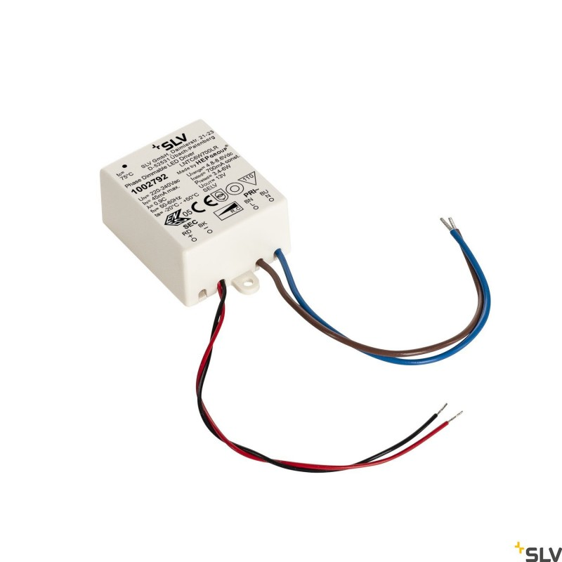 SLV Triac Dimable 6w LED driver 700mA 1002792