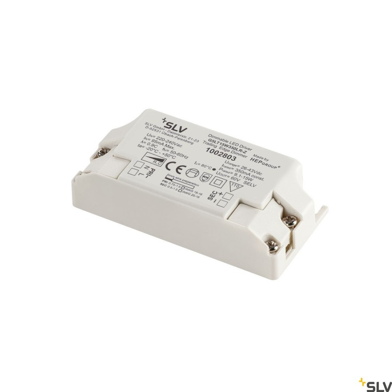 SLV Dimable LED driver 9.1 - 15W 350mA 1002803