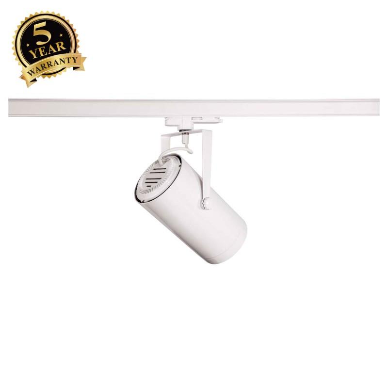 SLV EURO SPOT White 3-Circuit LED Track Light DALI Dimable 3000K 15° 1002810