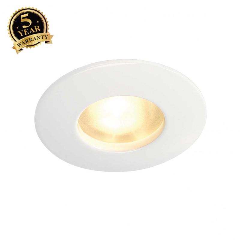 SLV 111011 OUT 65 downlight, round, white, MR16, max. 35 W
