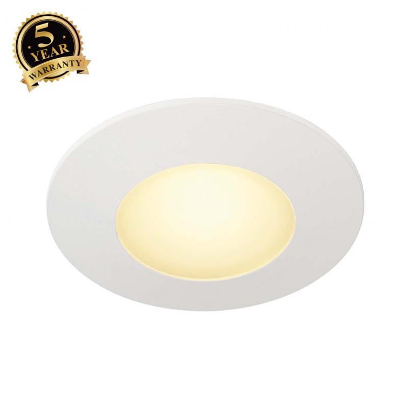 SLV 112341 AITES LED ROUND for junctionboxes, white, 3000K